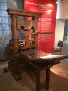 Sortie au musée de l'imprimerie de Lyon