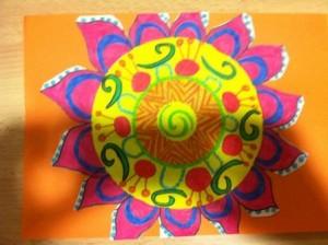 Vacances de printemps : mandala créatif
